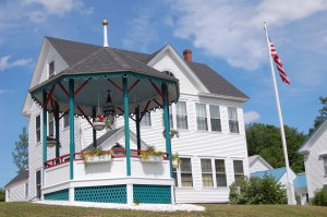 Town Office and Bandstand
